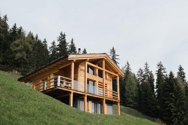 architecture chalet Bagnes