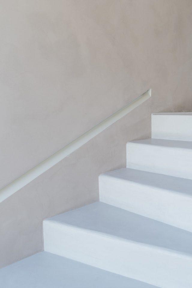 escalier chalet Verbier